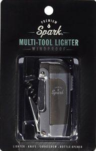 Premium Spark 4-in-1 Lighter