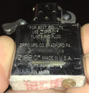 Zippo Insert