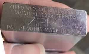 Original 1932 Replica Zippo