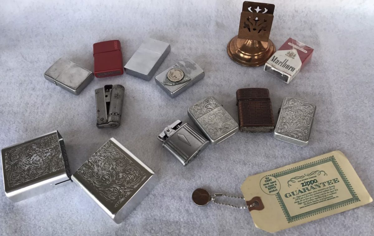 Vintage Petrol Lighters for sale on Ebay: Dissection of a Deal