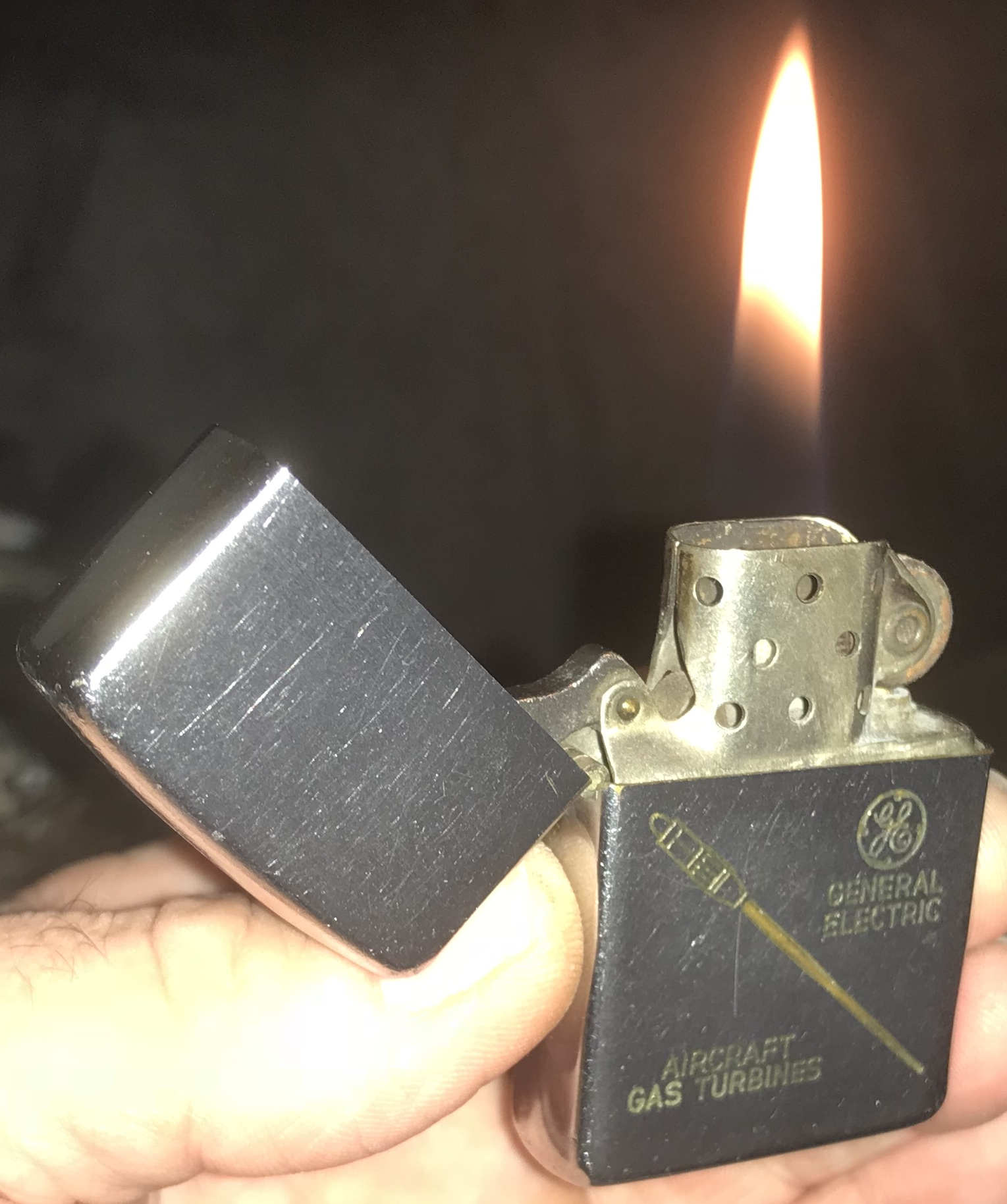 19502 General Electric Zippo